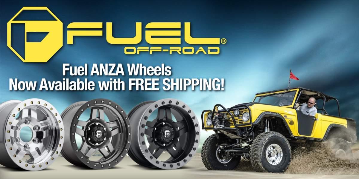 Fuel Anza Beadlock Wheels