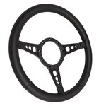 Steering Wheel Mark 8 GT Black 4 Spoke 14 Inch 2913 BLACK M8GT