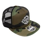 WH Retro Camo Snap Back Trucker Hat