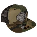 WH Vintage Camo Snap Back Trucker Hat