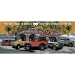 Laid Back Dream Garage Bronco Banner 55 x 24