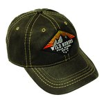 WH Diamond Sunrise Pigment Print Distressed Cap DARK