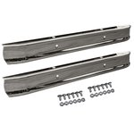 Front & Rear Stock Chrome Bumpers & Bolt Kits