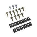 Grille - Bolt & Clip Set