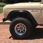WH Gorilla Warflares Front Fender Flares 66-77 Ford Bronco