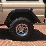 WH Gorilla Warflares Rear Fender Flares 66-77 Ford Bronco
