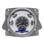 Dakota Digital Dash VHX Silver Alloy Blue 66-77 Bronco / 61-66 Pickup