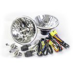 H4 Headlight Conversion Kit w/ Night Lighter Harness for 66-77 Bronco