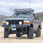 Full Size WH Winch Bumper UNWELDED KIT 87-96 F-150 & Bronco