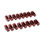 "EDELBROCK RED ROLLER ROCKER ARMS FOR SMALL BLOCK FORD 3/8"" 1.6:1 RATIO"