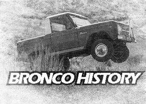 Wild Horses Bronco History