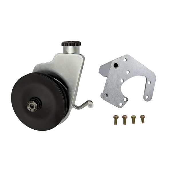 HD Delphi Pump Swap Kit to upgrade Stock 73-77 Bronco V-belt Only - For use with Stock Pressure Hose
