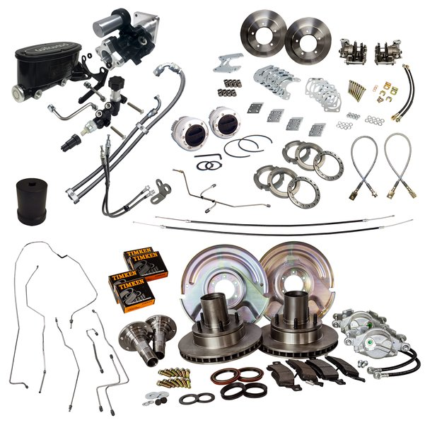 4 Wheel MOAB Hydroboost Power Disc Brake Master Kit All New Parts Everything Included 67-75 Bronco