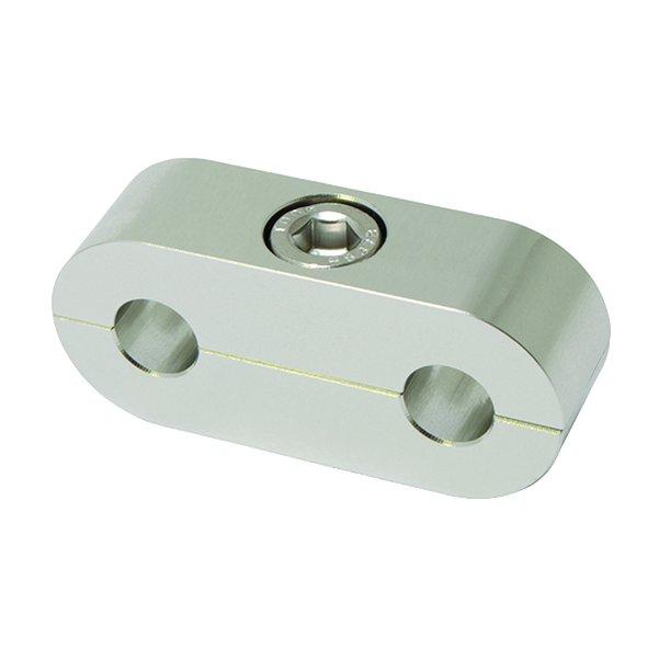 Clear Billet Hose Separator/Clamp for WH SS Brake Hose