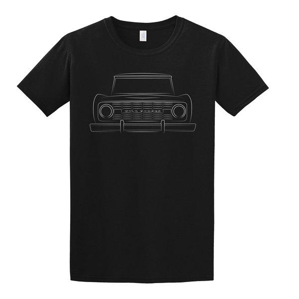 WH Bronco Silhouette Black Tee Shirt