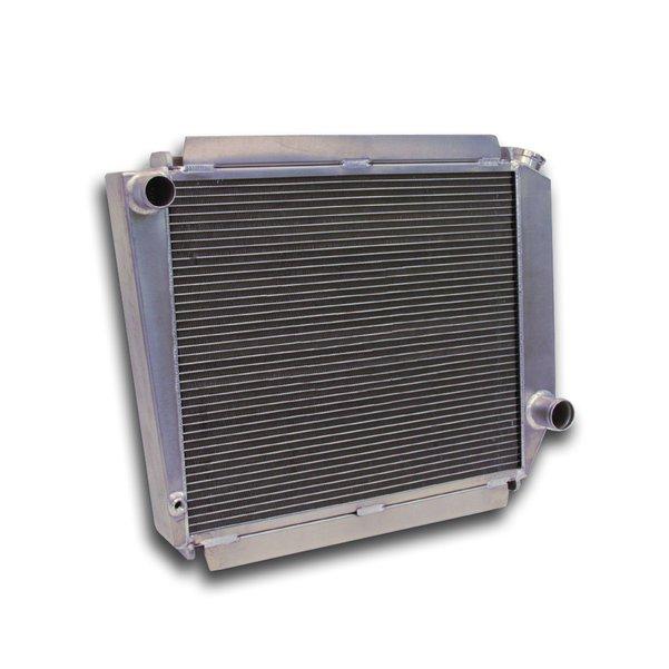 Ron Davis Aluminum Radiator 66-77 Bronco No Trans Cooler