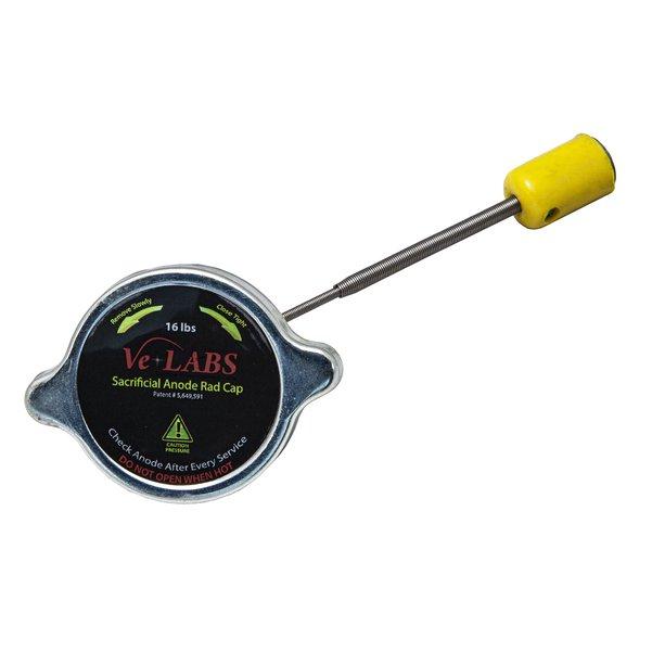 Anti-Electrolysis/Sacrificial Anode 16lb  Radiator Cap