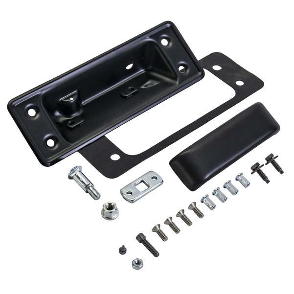 Super Deluxe Tailgate Handle Kit BLACK