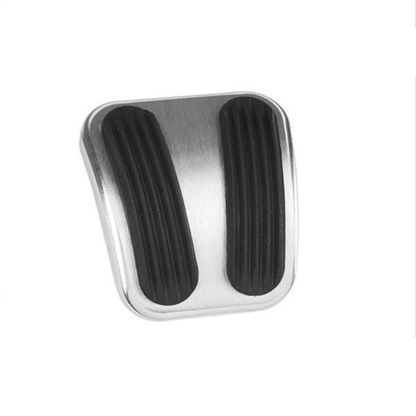Lokar Billet Aluminum Curved E-Brake Pedal Pad 66-77 Bronco