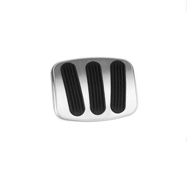 Lokar Billet Aluminum Curved Brake or Clutch Pedal Pad 66-77 Bronco Small - Single