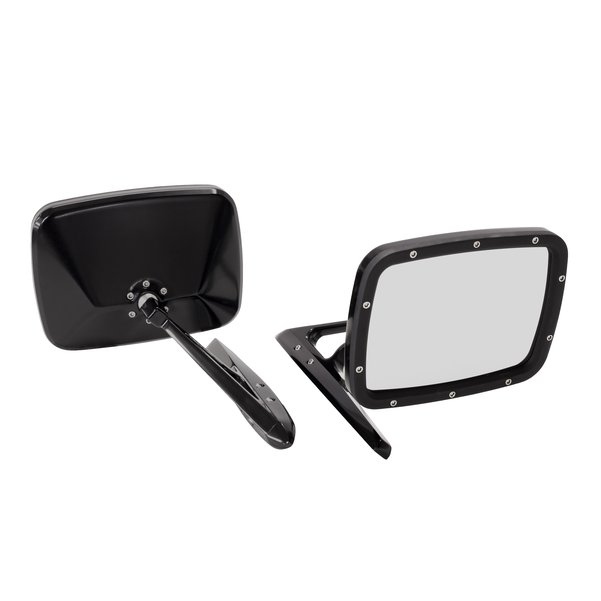 Billet Rides Door Mirror Set Black