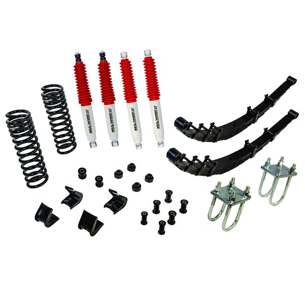 Flex-Master Suspension System 4 in Lift