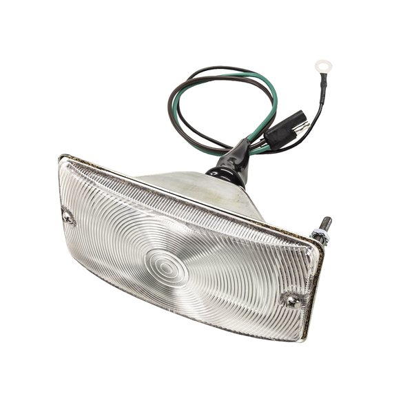 69-77 Front Turn Signal Assembly With Clear Lens