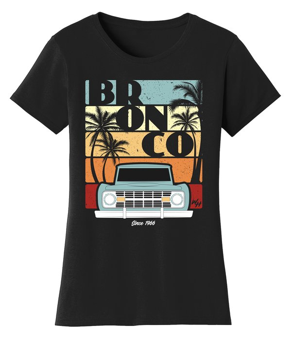 BRONCO Since 1966 Women's Tee Shirt