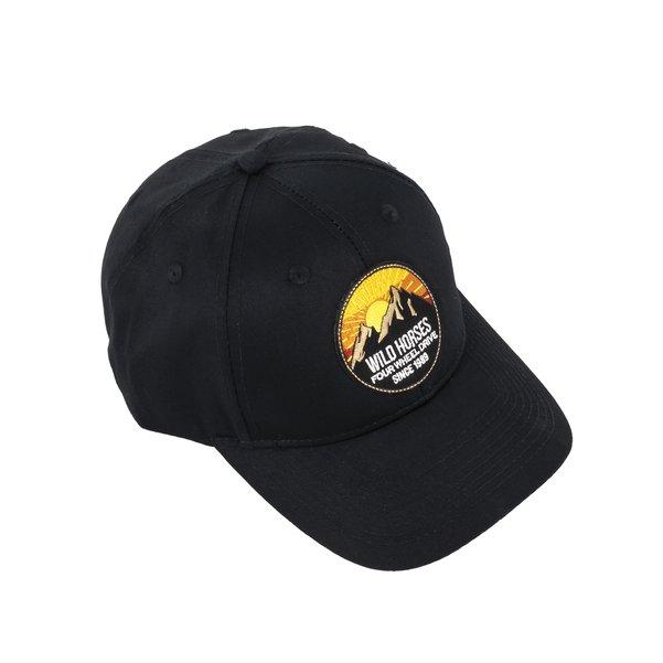 WH Sunrise Black Baseball Cap
