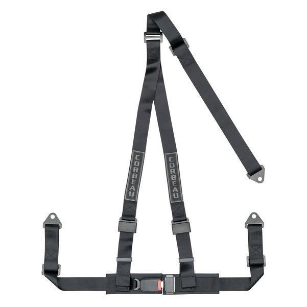 Corbeau 3-Point Harness Belt Bolt-In