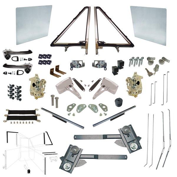 Driver & Passenger Door Parts Kit 68-77