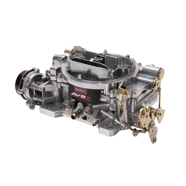 Edelbrock AVS2 Off-Road Carburetor 650CFM w/ Manual Choke Satin Finish