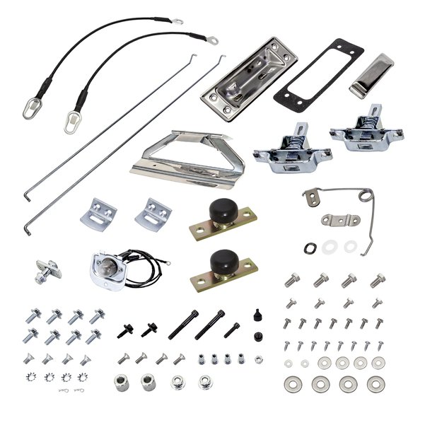 66-77 Tailgate Master Kit with Upgrades (NO TAILGATE)
