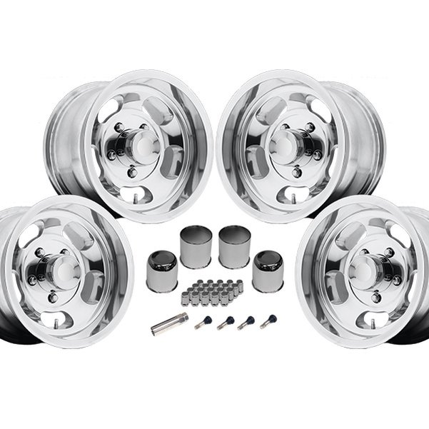 US Mags Indy 15x10 1-Piece Cast Polished Kit